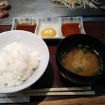 磐梯 - 上ランチ定食1650円