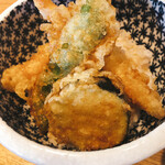 なかやしき - 小海老天丼