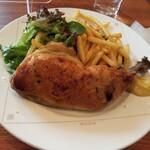 150107271 - 地鶏モモ肉のコンフィ                       ワイン頼めば良かった(´д`|||)