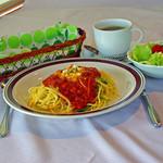 花風里 - パスタランチがコーヒー、サラダ付きで500円でした~!