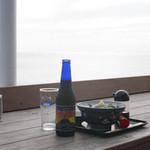 魚見亭 - 生シラス丼と江の島ビール