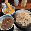 蕎麦源 - 料理写真:ミニ天丼と鳥せいろ蕎麦大盛無料1,000円税込