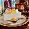 ヨーロピアン - 料理写真:【レアチーズケーキセット@税込800円】レアチーズケーキ
