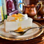 150112597 - 【レアチーズケーキセット@税込800円】レアチーズケーキ