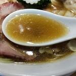 中華そば ふるいち - スープ
