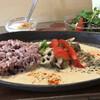 シズク - 料理写真:シズク風グリーンカレーライス