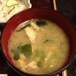 酒房長谷川 - お味噌汁