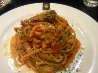 ペック 新宿タカシマヤ店 - 仔牛のラグーのスパゲッティ 美味い。。