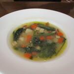 150120542 - お肉にはスープ付
