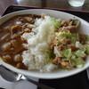 レストラン日高 - 料理写真:古地鶏ケイチャンとビーフカレー
