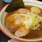 らーめん武まる - 料理写真:武まるラーメン+味玉