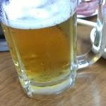 楽洛亭 - ビール