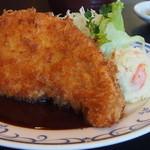 ステーキ・とんかつ 大吉 - とんかつアップ