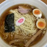 昭島大勝軒 - 料理写真:玉子入り中華麺