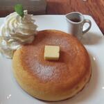 石釜 ベイクブレッド 茶房 タムタム - ホットケーキ