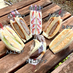 サンドウィッチ サンドーレ - 料理写真:【2021年3月13日(土)】ゲットしてきたサンドイッチたち