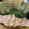 横浜ラーメン 北村家 - 料理写真:チャーシュー麺 海苔ほうれん草増し