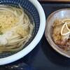 讃岐うどん専門店 やまふじ - 料理写真:かしわ天セット(冷)