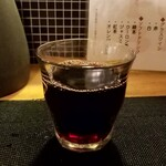 天ぷら さいとう - グラスワイン赤