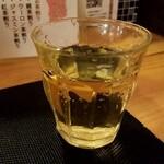 天ぷら さいとう - グラスワイン白