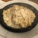 横浜チーズカフェ - まるごとパルミジャーノ・レッジャーノ焦しパスタ