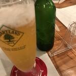 横浜チーズカフェ - ハートランド590円
