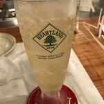 横浜チーズカフェ - スコッチハイボール  550円