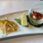 ヘイフンテラス - ヘイフンテラス特製一口前菜盛り合わせ