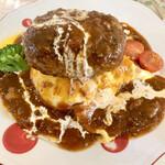 エリーノキッチン - 料理写真:マウンテンバーグ900円