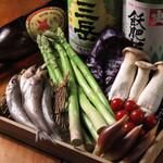 満月堂 - 旬の野菜やお魚を天ぷらで