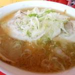 ラーメン 阿里山 - チャーシュー麺(みそ)