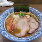 煮干しつけ麺 宮元 - 濃厚煮干しそば 840円