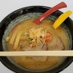 札幌鮭ラーメン麺匠 赤松 - 料理写真:和こく鮭だし味噌@90