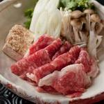 恵比寿 SHIN - 和牛ロースと下仁田葱のすき焼き仕立て