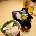 Otarumasazushi - 政寿司セットのアテ