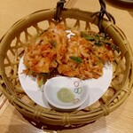 Otarumasazushi - 桜海老のかき揚げ 700円
