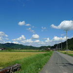 Tonosansoba - 帰り道