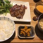 150202439 - 豚肩ロースの生姜焼き定食1200円