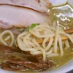 長尾中華そば - 麺アップ