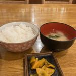 三九三 - ご飯と味噌汁