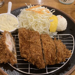 三九三 - 料理写真:チキンカツ