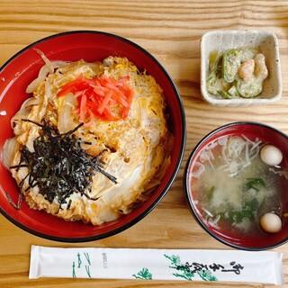こぐま亭 - 料理写真:阿仁みそ風味のコク旨かつ丼