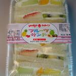 ヤオイソ - フルーツサンド756円