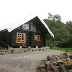 ログストック - 左手に山小屋カフェ