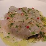 AKI NAGAO - 訪問5回目-鮮魚のカルパッチョ