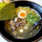 福助 - 人気NO-1地鶏ラーメン:650円