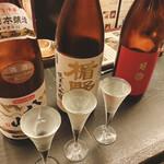 47都道府県の日本酒勢揃い 夢酒 - 3種飲み比べセット