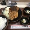 ぼうげつ - 料理写真:ミックスメニュー2品 1050円 (とんかつと豚の生姜焼き)