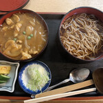新力家 - カレー丼セット