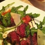クオーレ・ディ・ローマ - 牛フィレ肉のタリアータ バルサミコソース